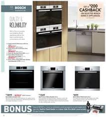 Harvey Norman Ovens And Cooktops Bosch Steam Oven Harvey Norman Catalogue April 2017