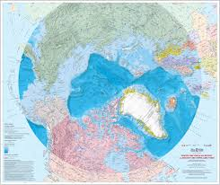 Arctic Map Map Northern Research