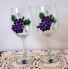 wine glass painting wine glass painting ideas the greatest glass painting ideas
