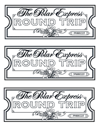 my take on the polar express tickets we printed them on gold