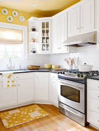 oak kitchen cabinets yellow walls decorating with yellow better homes gardens