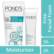 Ponds Baru ponds foam acne solution 50g daftar update harga terbaru