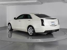 2013 cadillac ats white used 2013 cadillac ats sedan for sale in palm fl 86152