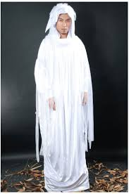free shipping cosplay party haunting white spirit costumes for