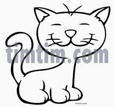 coloring elegant cat cartoon drawing maxresdefault coloring