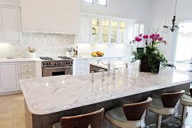 houzz glass kitchen cabinet doors transitional carreara marble island glass cabinet doors