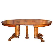 Best Oak Oak Tiger Oak LUV Images On Pinterest Tigers - Antique white oval pedestal dining table