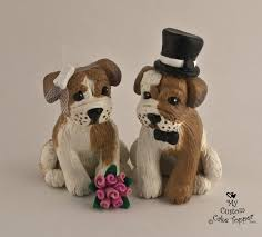 bulldog cake topper dog wedding cake toppers my custom cake topper