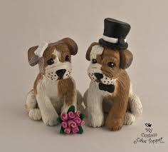 dog cake topper dog wedding cake toppers my custom cake topper
