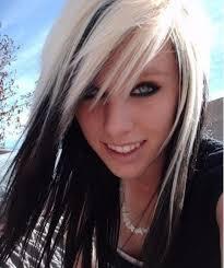 dark hair underneath light on top marvelous black and blonde hairstyles long unforgettable red hair