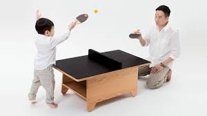swissmiss tiny ping pong table