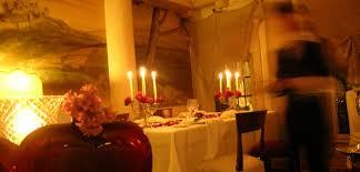 cena al lume di candela dinner hotel abbazia