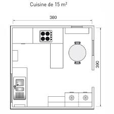 cuisine 9m2 avec ilot plan cuisine 9m2 idées décoration intérieure