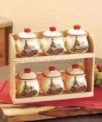 wine kitchen canisters spice rack things remembered 70s kitchen and kitchen