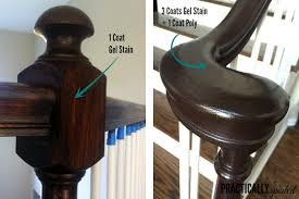 how much gel stain do i need for kitchen cabinets how to gel stain oak banisters