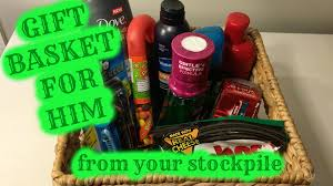 Gift Baskets For Him Gift Basket For Him Countdown To Christmas Youtube