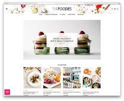 food templates free download 20 beautiful wordpress food blog themes 2017 colorlib the voux minimal food blog website template