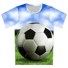 Baby Boy Football Clothes New 2017 Summer Children 3d T Shirt Football Basketball Bullet
