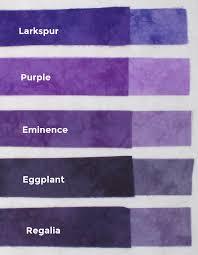 hand dyed fabric shades purple