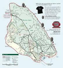 map of mackinac island mackinac island trail maps for self guided bike tour bicycle