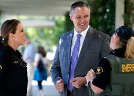 Christine Barnes Behind The Badge Undersheriff Don Barnes Adopts Brown Bag