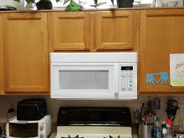 how to install over the range microwave without a cabinet over range microwave install youtube