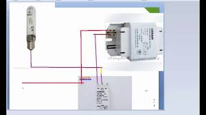 metal halide l circuit diagram metal halide baglantısı nasıl yapılır youtube