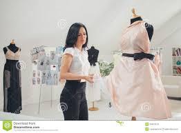 fashion designer fashion designer working at studio stock images image 34870974