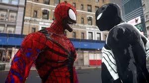 black spiderman carnage