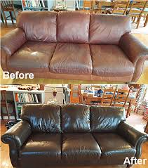 Leather Sofa Restoration Finish Restore Inc Wood Leather Restoration Services