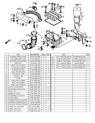 honda odyssey fl350 air intake diagram and parts list honda