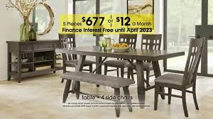 rooms to go dining sets rooms to go 27th anniversary sale tv commercial five