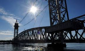 cape cod canal railroad bridge gets alignment work done news