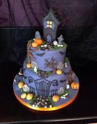 spooky graveyard cake halloween pinterest graveyard cake