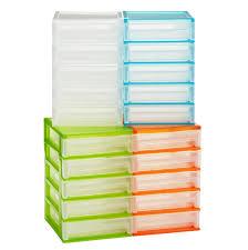 Plastic Desk Organizer Desktop Organizers With Drawers Creative Desk Decoration