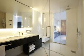 black vanity bathroom ideas bathroom chic black floating vanity bathroom decoration with two
