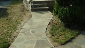 Pictures Of Stone Walkways by How I Install A Stone Sidewalk Part 1 Of 3 Mike Haduck Youtube
