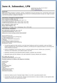 Example Of A Nursing Resume by Sample Lpn Resume Objective Creative Resume Design Templates