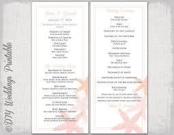 Wedding Program Stationary Best 25 Wedding Program Template Word Ideas On Pinterest Diy