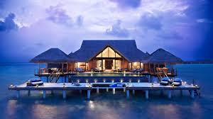 Beach Houses On Stilts houses magnificent resort bungalow stilts water ocean beach house