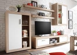 Wohnzimmer Ideen Holz Wohnwand Weiß Mit Holz Bequem Auf Wohnzimmer Ideen Plus Momati24de 11