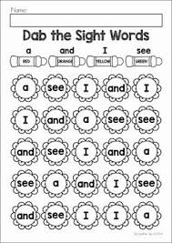 best 25 preschool sight words ideas on pinterest sight word