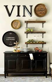 dining room wall decor ideas wall shelves