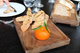 pat e cuisine chicken liver pate made to look like a mandarin orange what a way to