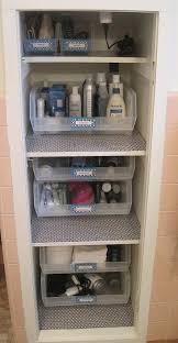 bathroom closet storage ideas best 25 bathroom closet organization ideas on