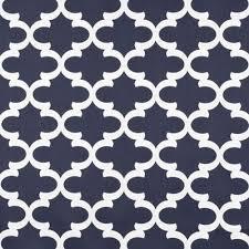 Black Drapery Fabric Quatrefoil Drapery Fabric Onlinefabricstore Net