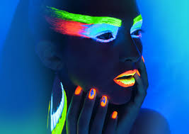 glow in the makeup neon glow in the make up dianastylist
