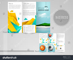 100 three page brochure template custom trifold brochure