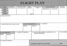 flight plan form and worksheet