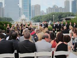 outdoor wedding venues chicago and co celebration garden is the wedding ceremony